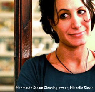 Monmouth Steam Cleaning and Carpet Cleaning - Owner Michelle Slevin